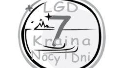 LGD7 Logo czarno-białe